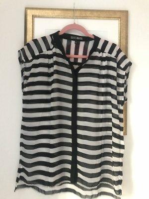 Schwarz-weiß Bluse