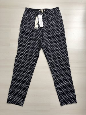 Esprit Drainpipe Trousers black-white cotton
