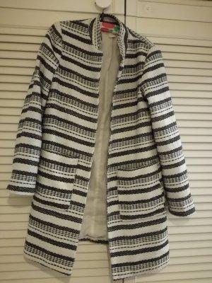 H&M Cardigan tricotés noir-blanc