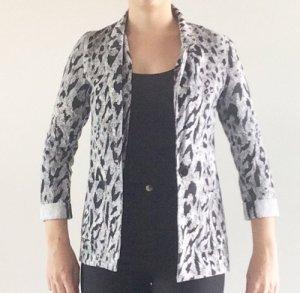 Schwarz-Weiß-gemusterter Blazer von H&M