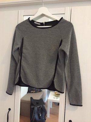 Promod Long Sweater white-black