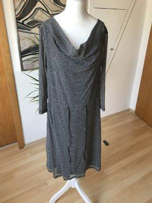 Schwarz-weiß gemustertes Kleid Sir Oliver, Größe 42
