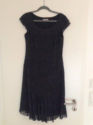 Schwarz-weiß gepunktetes Kleid von dresses unlimited - Größe 38/40