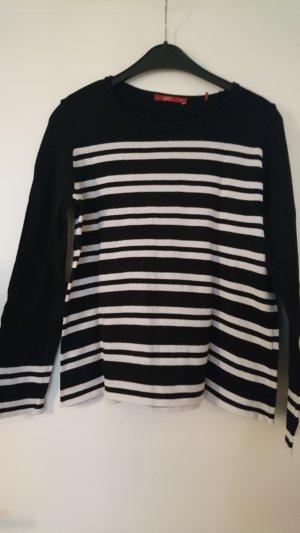 Schwarz weiß gestreifter Pullover von Esprit
