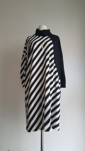 Shirt Dress white-black polyester