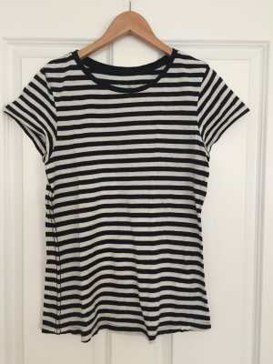 H&M Camisa de rayas blanco-negro
