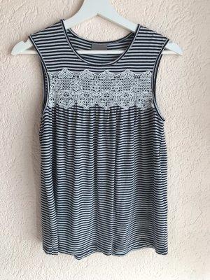 Vero Moda A-lijn top zwart-wit