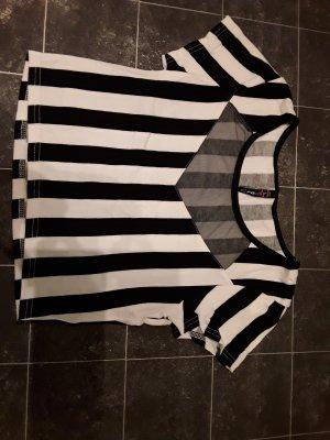 schwarz /weiß gestreiftes Tshirt