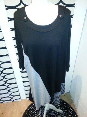 schwarz/weiß/graues Kleid/Tunika