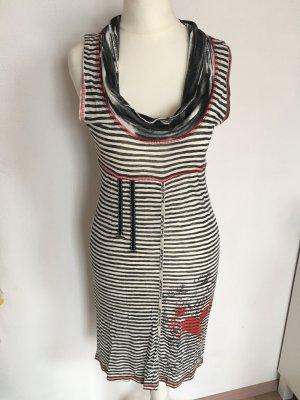 Schwarz/weiß Kleid von Promod