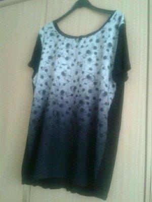Schwarz Weiss Shirt Muster
