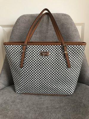 Schwarz-weiß Tasche