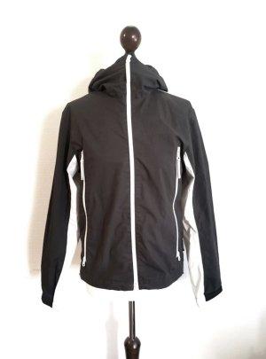 Adidas Outdoor Jacket black-white mixture fibre