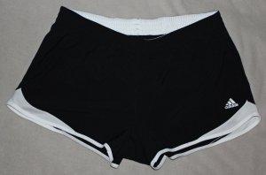 Schwarz weiße Adidas Shorts Gr. L (42-44)
