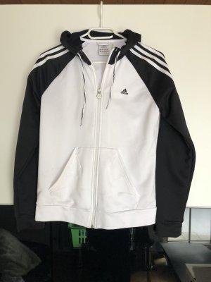Schwarz weiße Adidasweste