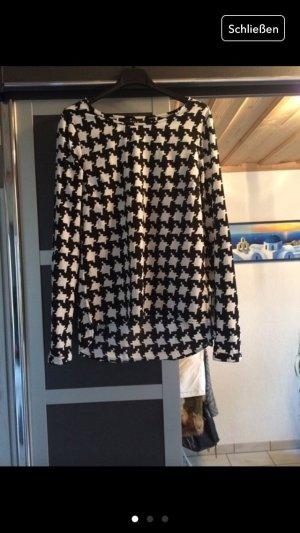 Schwarz-weiße Bluse von Vila - wie Neu!
