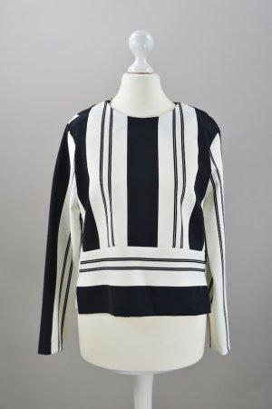 Schwarz weiße Bluse Zara Größe S Neu mit Etikett