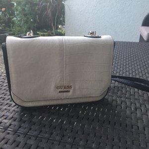 Schwarz/Weiße Guess Tasche