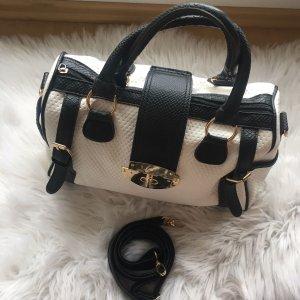 Schwarz-Weiße Handtasche