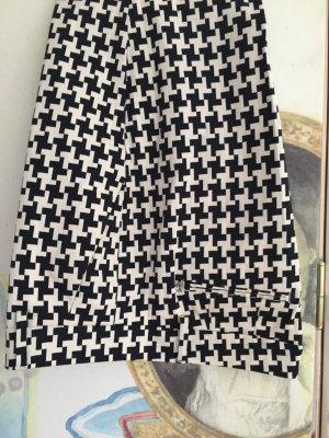 Schwarz-weiße Hose -- XL Hahnentritt -- wie neu