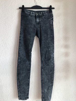 FB Sister Pantalon taille haute blanc-noir