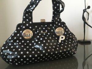 Schwarz-Weiße-Punkte Tasche