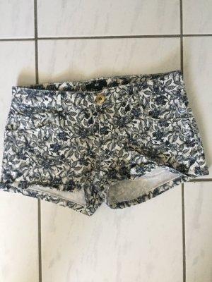Schwarz weiße Short mit Muster