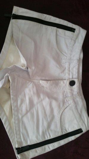 Amisu Short blanc-noir