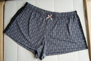 schwarz/weiße Shorts/Schlafshorts