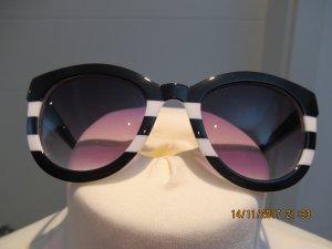 Schwarz Weisse Sonnenbrille von Zara
