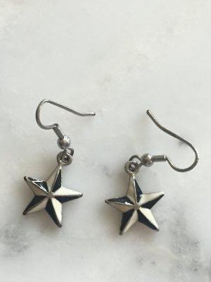Schwarz-Weiße Sternchen-Ohrringe NEU #Bijou Brigitte