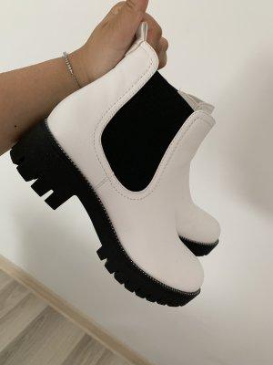 Graceland Chelsea Boot blanc-noir