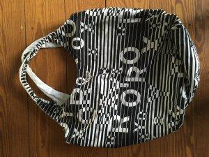schwarz/weiße Tasche von Roxy