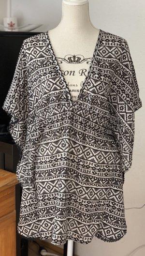 Hunkemöller Strandkleding zwart-wit