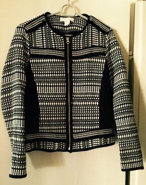 Schwarz weißer Blazer von H&M