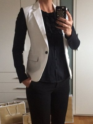 Schwarz-weißer Blazer von Michael Kors