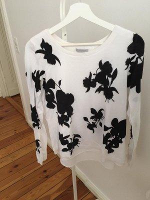 Schwarz-weißer H&M Pullover