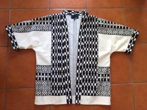 Etam Kimono blouse zwart-wit