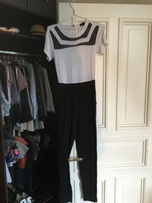 Topshop Twin Set tipo suéter blanco-negro