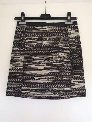 H&M Falda de cuero de imitación multicolor