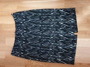 Adagio Falda blanco-negro
