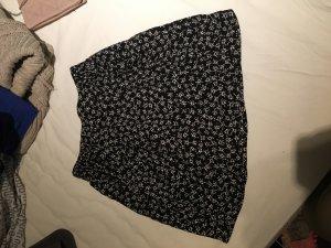 Schwarz/Weißer Rock von H&M