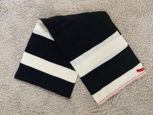 Schwarz/ weißer Schal von Esprit