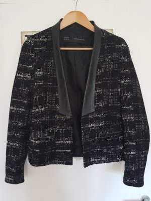 Zara Wool Blazer black-white wool