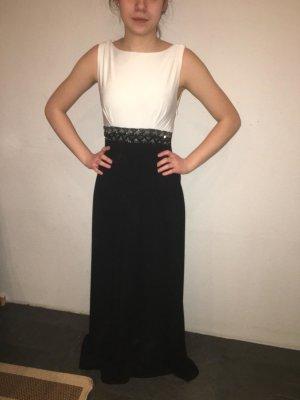 schwarz - weißes Abendkleid