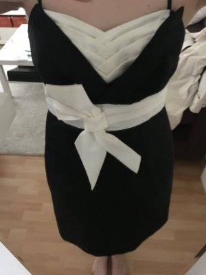 Ambiance Ball Dress black-white