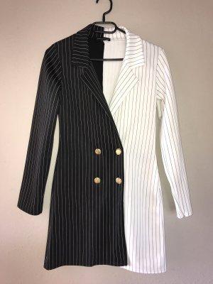 Asos Geklede jurk zwart-wit