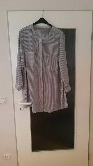 Schwarz/Weißes Blusenkleid zu verkaufen