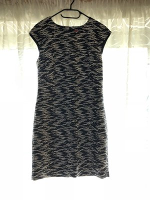 Schwarz weißes Esprit Business Kleid