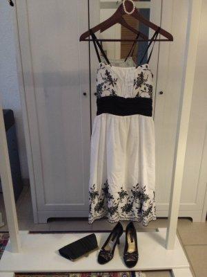schwarz.weißes Kleid